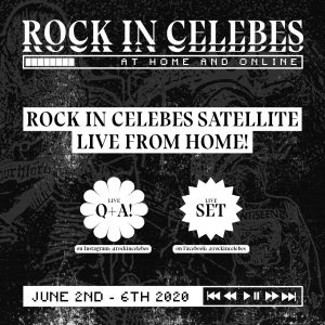 Rock In Celebes Satellite Live From Home